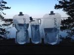 Platypus bottles on their maiden voyage - they were great.