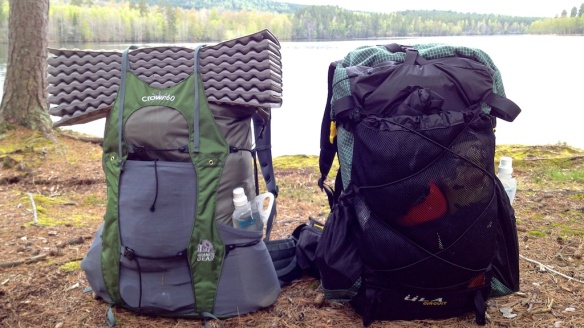 Backpacks, Granite Gear Crown V.C 60 and Üla Circuit.