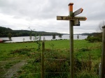 At our turn, lake Ramsjön