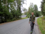 Last kilometer of our hike