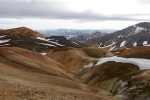 Looking back towards Landmannalaugar